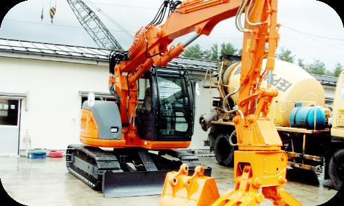 解体工事・建設工事のイメージ